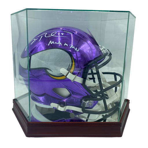 Full Sized Helmet Glass Display Case