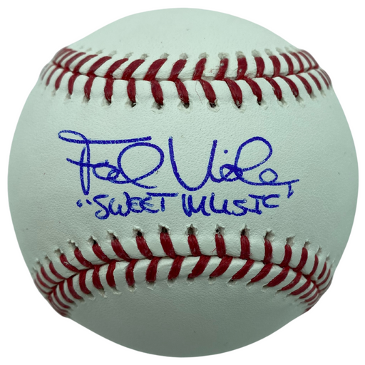 Frank Viola Signed MLB Baseball With 'Sweet Music'