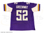Chad Greenway Signed Custom Purple Football Jersey