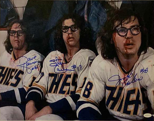 Hanson Brother Triple Signed 16x20 Photo