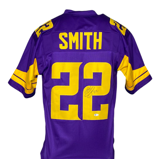 Harrison Smith Signed Custom Holiday Football Jersey