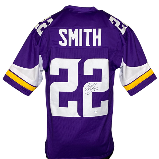 Harrison Smith Signed Custom Purple Football Jersey