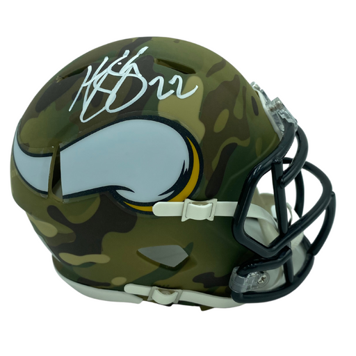 Harrison Smith Signed Camo Speed Mini Helmet