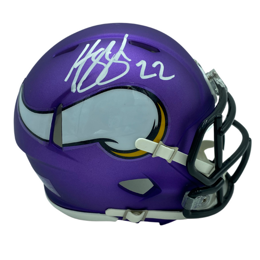 Harrison Smith Signed Minnesota Vikings SPEED Mini Helmet