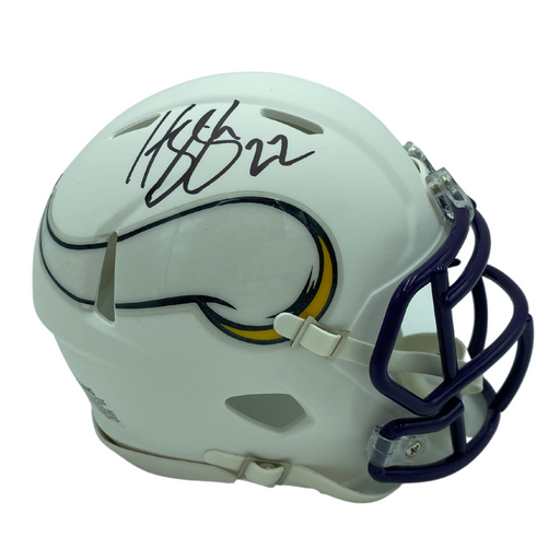 Harrison Smith Signed Minnesota Vikings White Speed Mini Helmet