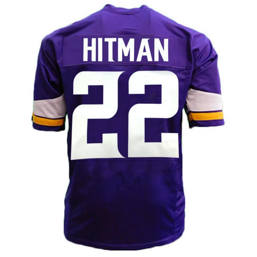 PRE-SALE: Harrison Smith HITMAN Signed Custom Purple Football Jersey