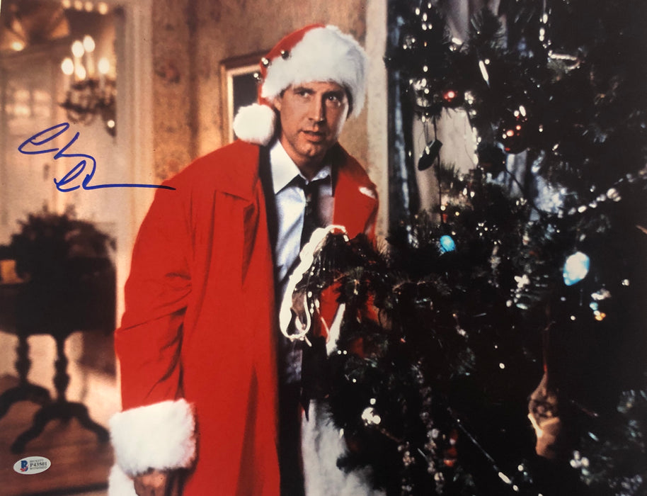 Chevy Chase Signed Christmas Vacation 16 x 20 Photo
