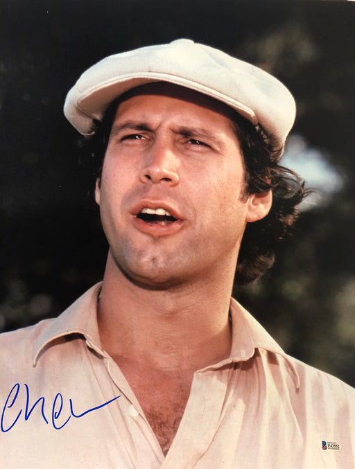 Chevy Chase Signed Caddyshack 16 x 20 Photo