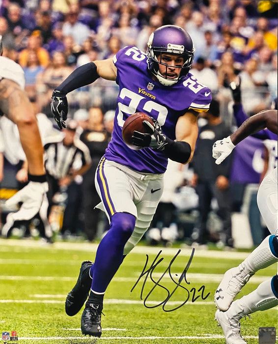 Harrison Smith Signed Vertical w/ Ball 16x20 Photo