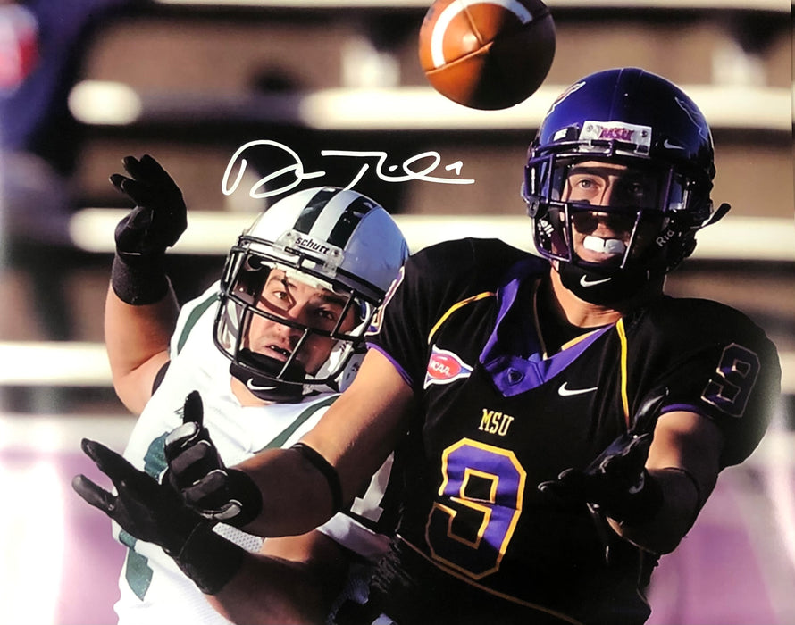 Adam Thielen Autographed College Catch Horizontal 16x20 Photo