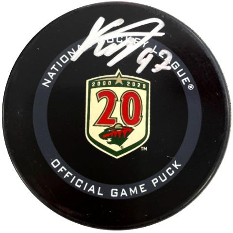 Kirill Kaprizov Signed Official Game Puck