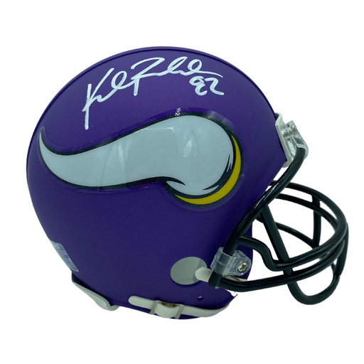 Kyle Rudolph Signed Minnesota Vikings Purple Mini Helmet