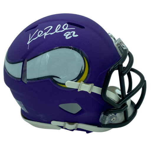 Kyle Rudolph Signed Minnesota Viking Speed Rep Mini Helmet