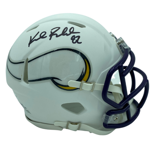 Kyle Rudolph Signed Minnesota Vikings White Mini Helmet
