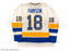 Hanson Brother Signed White Hockey Jersey with Old Time Hockey
