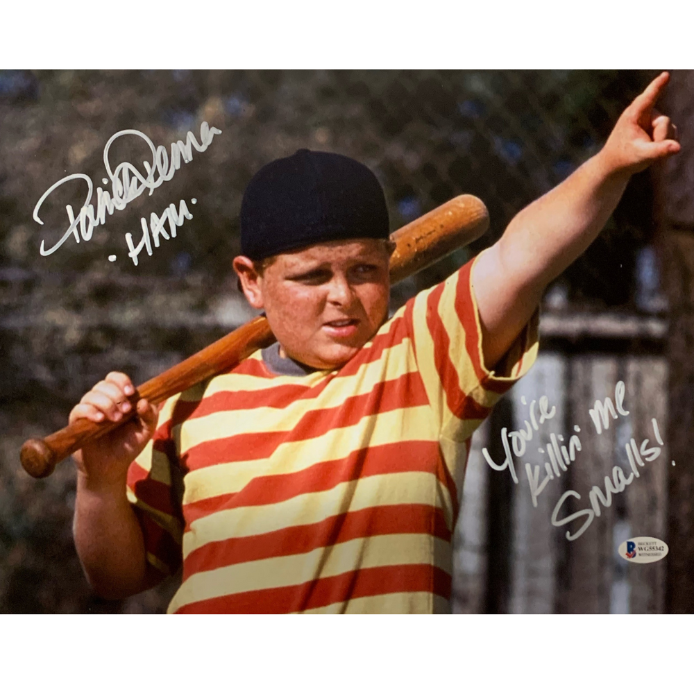 "Patrick Renna Signed ""You're killin' me Smalls!"" 11x14 Photo"