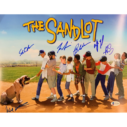 The Sandlot Cast Signed 11x14 Poster