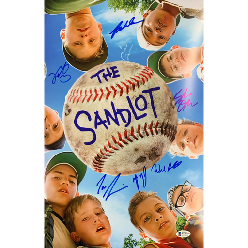 The Sandlot Cast Signed 11x17 Poster #1