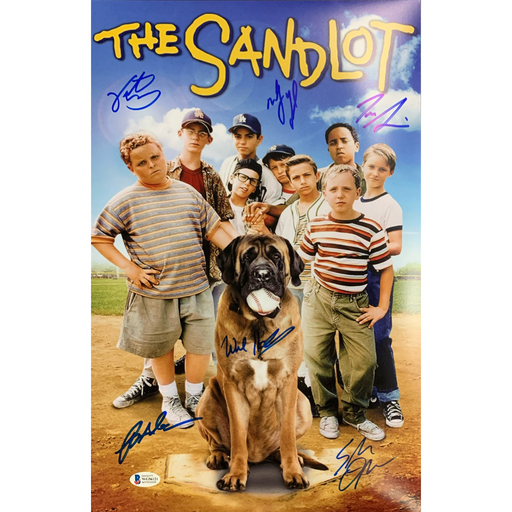 The Sandlot Cast Signed 11x17 Poster #2