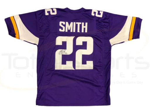 PRE-SALE: Harrison Smith Signed Custom Purple Football Jersey