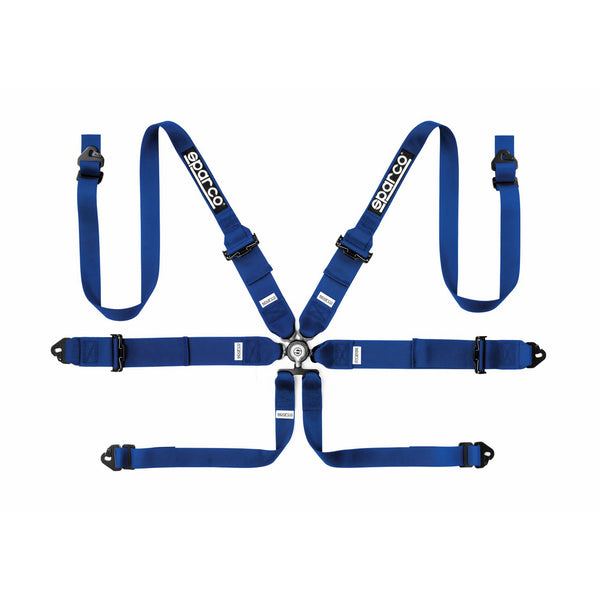 Sparco FIA Hans Racer 6-Point Racing Harness