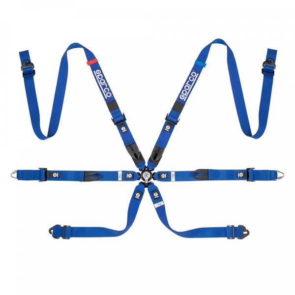 Sparco FIA Prime H-7 6-Point Racing Harness