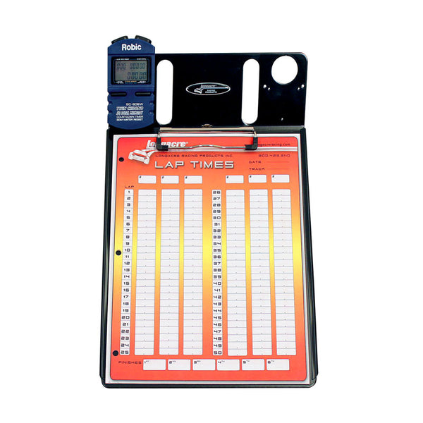 Longacre Clipboard & One Robic SC606 Stopwatch Combo