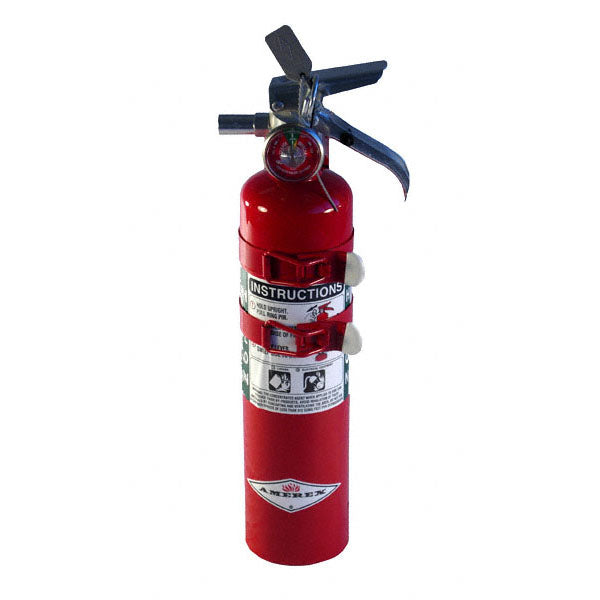 Halotron Fire Extinguisher - 2.5-lb