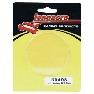 Longacre Tire Gauge Replacement PlaSTIc Lens