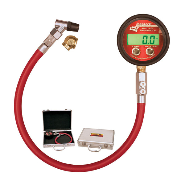Longacre Pro Digital Tire Gauge - 0-60 PSI