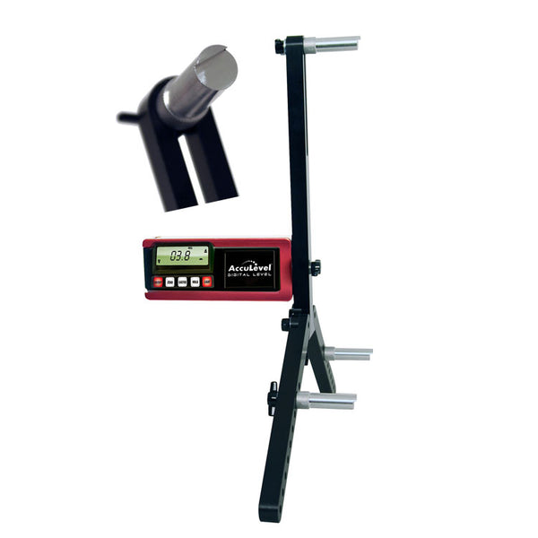 Longacre Digital Caster/Camber Gauge With Quickset Adapter - Large Wheels