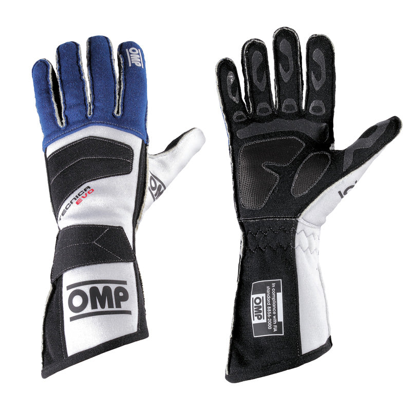 OMP Tecnica Evo Racing Gloves - 2017 Model