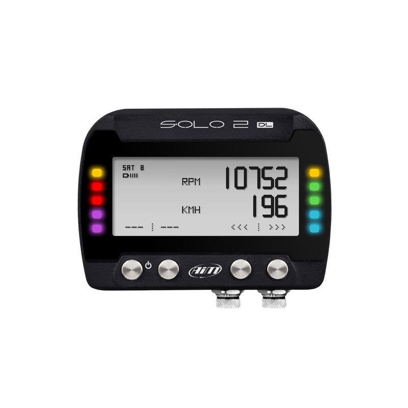 AIM Solo 2 DL GPS Laptimer - RS232/CAN