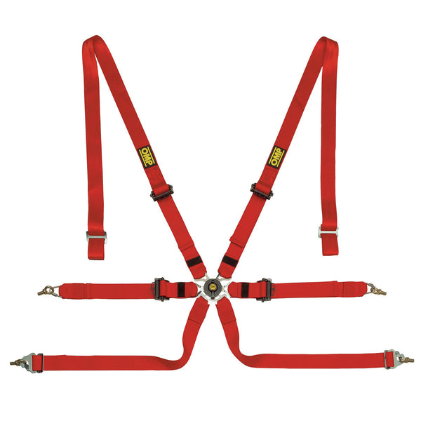 OMP One 2 Pull-Down Racing Harness