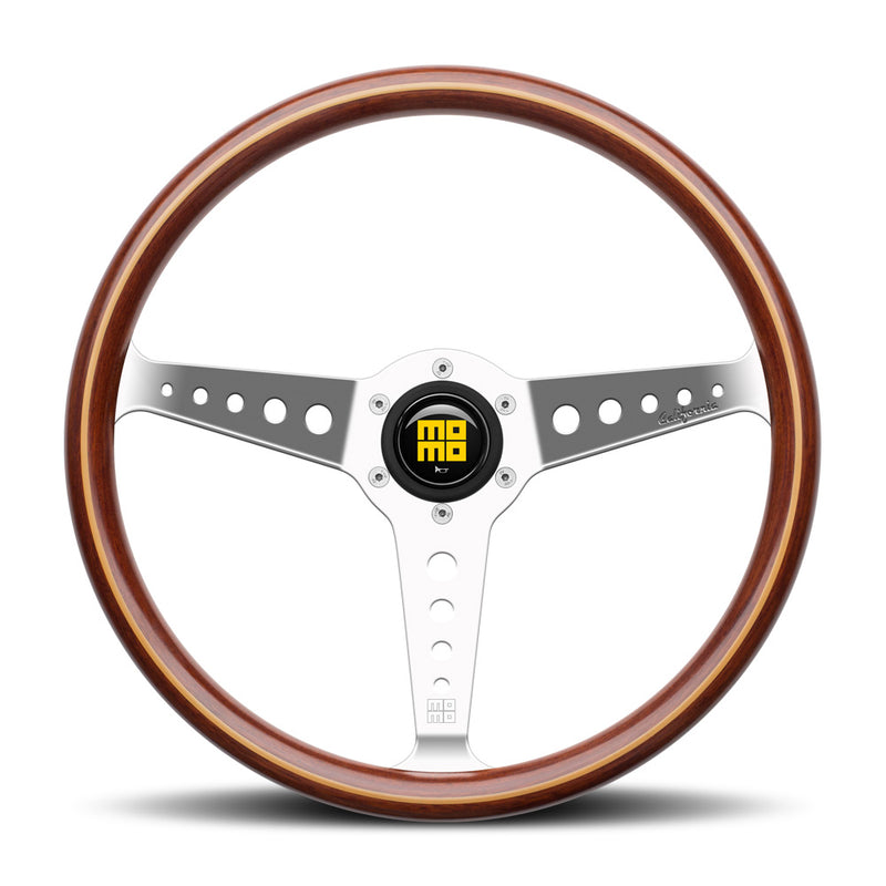 Momo Heritage California Wood Steering Wheel
