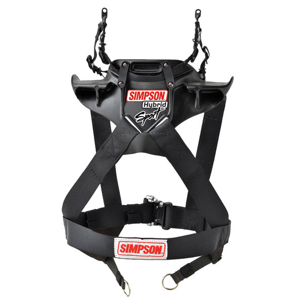Simpson Hybrid Sport Head And Neck Restraint - SAS Equipped