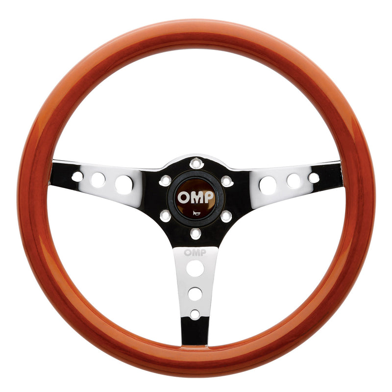 OMP Mugello Wooden Steering Wheel