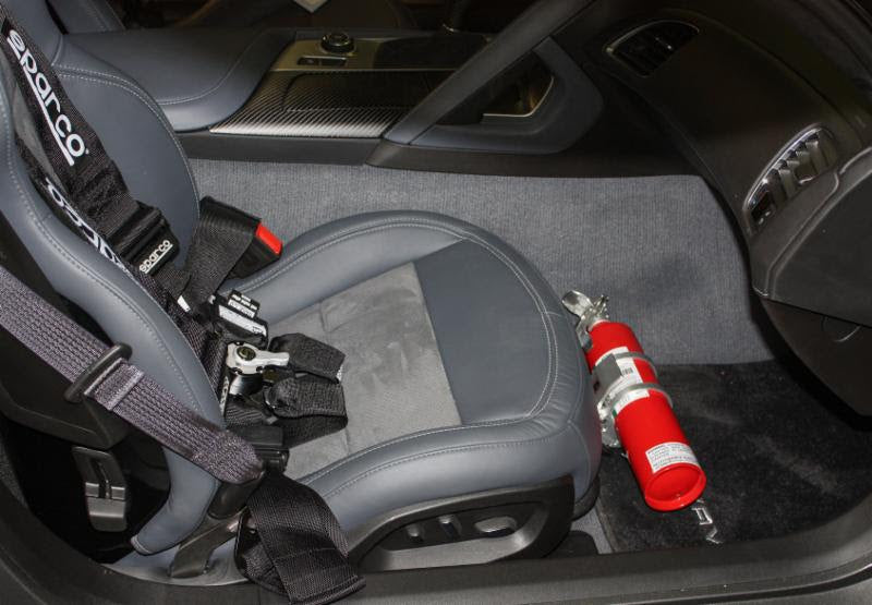 Brey Krause R-2171 Fire Extinguisher Mount - Chevrolet Corvette (C7)