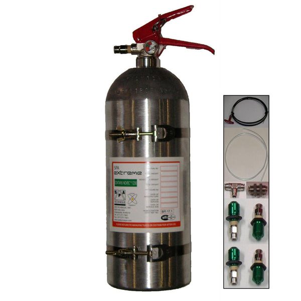 SPA Technique Extreme Novec SFI Fire System - Mechanical, Classic-Style