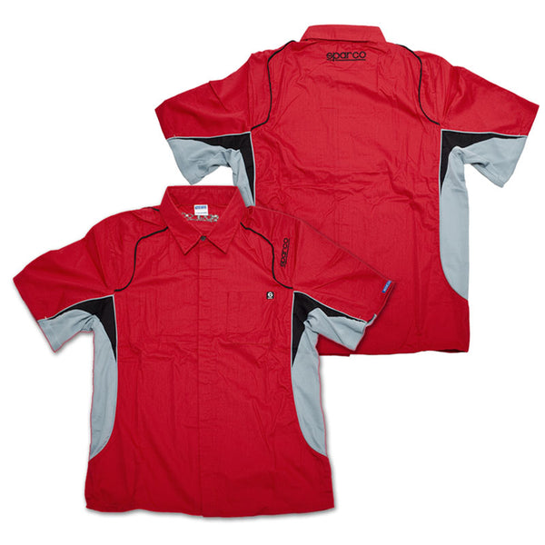 Sparco Pit Tech Crew Shirt