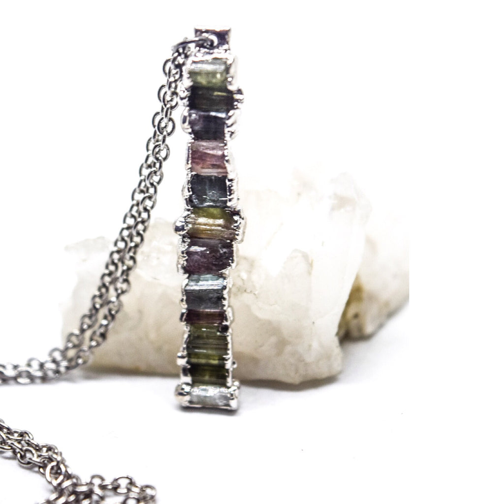 Whisper Necklace | Rhodium - Maverick Objects