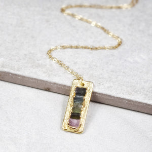 Ladder Necklace | Gold - Maverick Objects