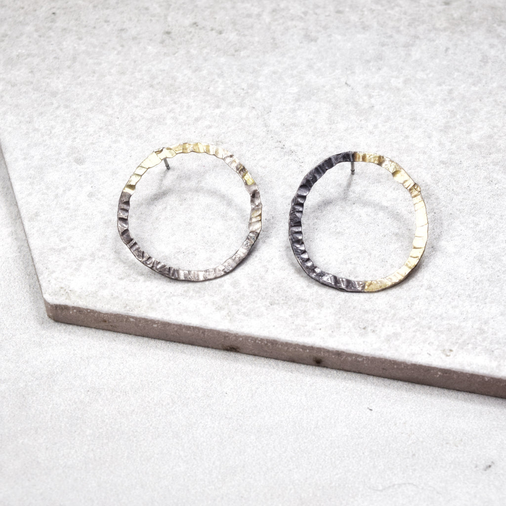 Orbit Hoop Earrings - Maverick Objects