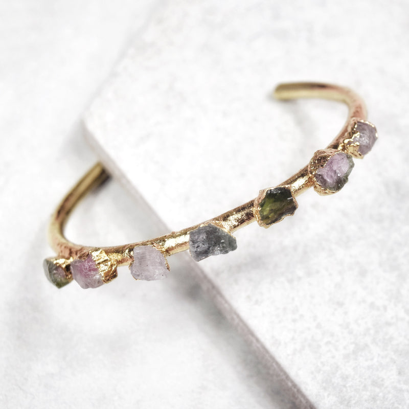Tourmaline Sheer Cuff | Gold - Maverick Objects