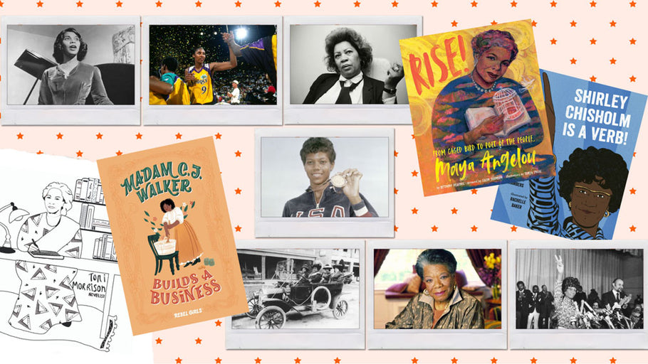 Celebrating Black Trailblazers From History Part 2 (With More Books and Free Downloadable Coloring Pages For Kids!)