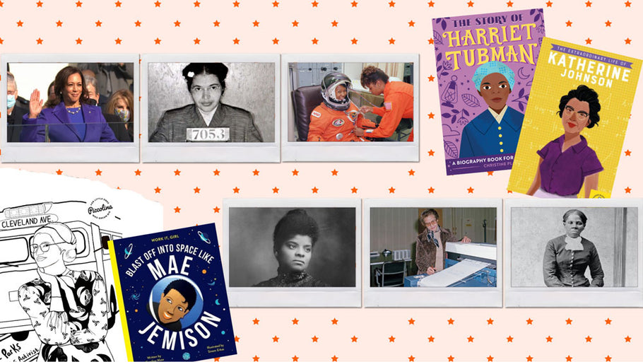 Celebrating Black Trailblazers From History (With Books and Free Downloadable Coloring Pages For Kids!)