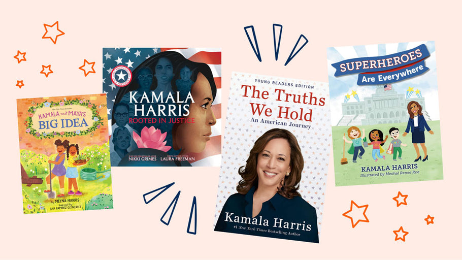 4 Children's Books About Kamala Harris To Get Excited About Our First Woman Vice President