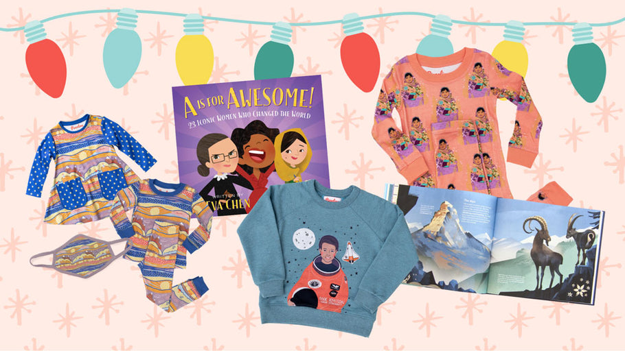 Kids Gift Guide 2020: Pair Your Favorite Piccolina Styles With These Empowering Books!