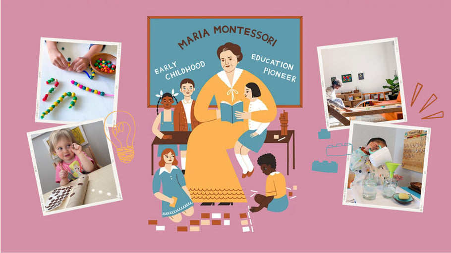 Celebrating Maria Montessori for International Day of Education + Our Favorite Montessori-Based Instagrams To Follow