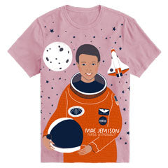 Women's Crewneck Mae Jemison Short Sleeve Trailblazer Tee
